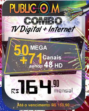 Combo TV e Internet Rio das Ostras